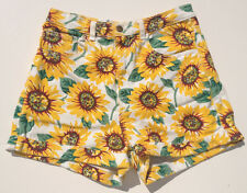 American Apparel High Waist Shorts Floral NEW RRP $179 Womens Size 30/31