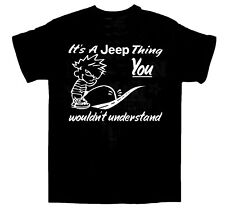 It's A Jeep Thing T-shirt / Cars / RIVALRY / BIRTHDAY / RACING / Size Large