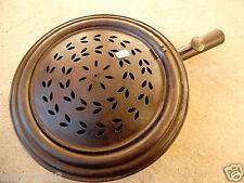 (n°1) outil ancien de cuisine , old tool , Ancienne bassinoire en tôle