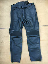 "TARGA Ladies Leather Motorcycle Motorbike Trousers UK 16 or 34"" Waist  No62"