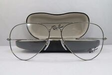 Ray-Ban RB 6049 2620 Gunmetal Aviator New Authentic Eyeglasses 55mm w/Case