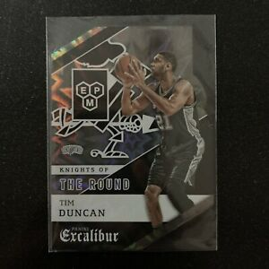 2015-16 Panini Excalibur Basketball Tim Duncan Knights Of The Roundtable SSP