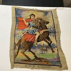Vintage Fantasy Needle Point Art Made in Greece Cotton 1857 Multi Color