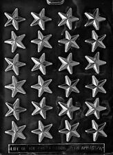 M124 Small Stars Chocolate Candy Soap Mold