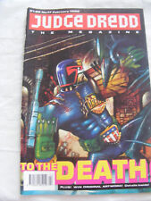 Judge Dredd Megazine Volume 1 Issue 17 -February 1992 - 2000AD
