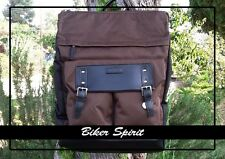 Blan_C Brown Laptop/Tablet Backpack tote bag with laptop section.