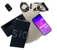 Samsung Galaxy S10 SM-G973F - 128GB - GSM 4G LTE (Unlocked) (Dual SIM) Android