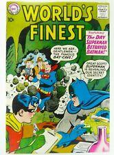 DC WORLD'S FINEST (Oct 1958) #97 BATMAN & SUPERMAN Team-Up VF (8.0) Ships FREE!