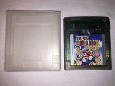 Super Mario Bros. Deluxe (Nintendo Game Boy Color) GBC Game w/Clear Case Exc!
