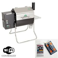 Green Mountain Grills, GMG Davy Crockett Wood Pellet Grill WiFi DCWF + Scrubber