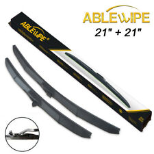 "ABLEWIPE HYBRID 21"" & 21"" Fit For JEEP PATRIOT 2007-2017 WINDSHIELD WIPER BLADES"