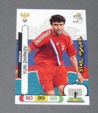 YURI ZHIRKOV STAR PLAYER RUSSIE ROSSIJA FOOTBALL CARD PANINI UEFA EURO 2012
