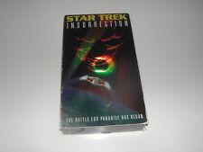 Star Trek Insurrection VHS Staring Patrick Stewart, & Jonathan Frakes