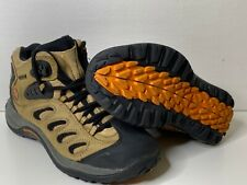 Merrell Men's Reflex Mid Waterproof Smoke Leather Hiking Boots Size 7 US