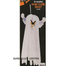 3D 36CM GHOST HALLOWEEN PARTY SPOOKY HANGING CEILING ROOM DECORATION PROP