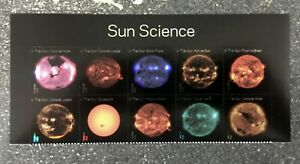 2021USA Forever Sun Science - Header Block of 10   mint
