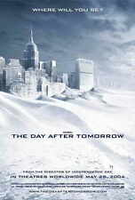 THE DAY AFTER TOMORROW Movie POSTER 27x40 F Dennis Quaid Jake Gyllenhaal Emmy