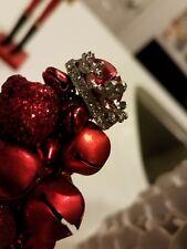 cubic zirconia crown ring