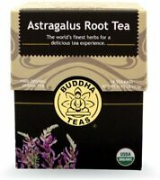 Astragalus Tea by Buddha Teas, 18 tea bag 1 pack