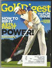 Dustin Johnson Signed January 2011 Golf Digest Magazine COA 2016 US Open