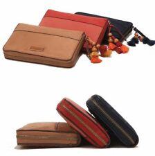 Parfois Pouch Wallet Cards Holder (Navy Blue,Brown & Peach)