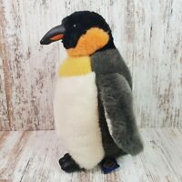Vintage 1994 The Petting Zoo Emperor Penguin Plush Soft Toy Stuffed Animal 10''