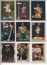 Seattle Sonics Team Lot #D 153 of 200 Diff, Durant, Kemp, Payton, Green, Perkins