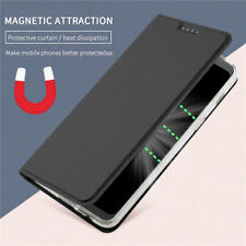 For MOTO G5 G5S G6 Plus, Business Flip Leather Magnetic Wallet Stand Cover Case