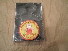 Fox Run Gingerbread Man Holiday Cookie Cutter NOS In Original Box