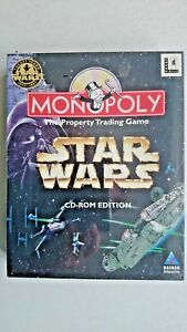 Monopoly Star Wars  (PC Windows 1997) - New and SEALED - Big Box Edition