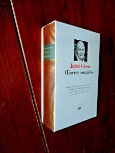 [NRF] La Pléiade - JULIEN GREEN - OEUVRES COMPLETES - T.6 - 1990 - Superbe !
