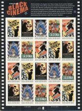 US: 2008 BLACK CINEMA; Complete Sheet of 20 - Sc 4336-40; 42 Cents Values