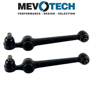 For Ford Festiva Pair Set of 2 Front Lower Control Arms & Ball Joints Mevotech