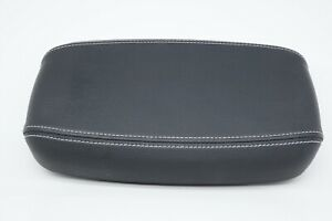 OEM Life Fitness 15 x 9 Rectangular Cushion Pad Double Stich Black 1000019-0101