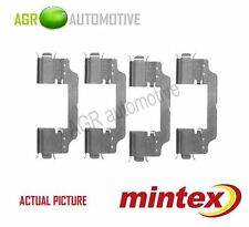 MINTEX FRONT BRAKE PADS ACCESORY KIT SHIMS GENUINE OE QUALITY - MBA1716