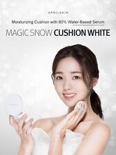BIG SALE [April skin] Magic Snow Cushion White 2.0 SPF50 #No21 Light Beige