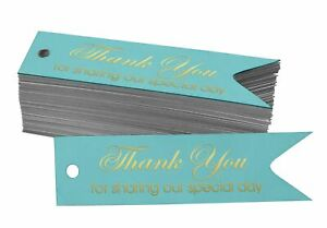Inkdotpot Gold Foil Paper Hang Tags Thank You For Sharing Our Special-cqY