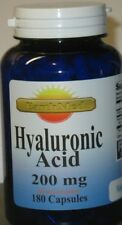 Hyaluronic Acid High Potency 200mg 180 Capsules High Quality 100 % Made USA/ FDA