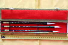 Coffret 3 Pinceaux-Pinceau Calligraphie Chinoise-Chinese Calligraphy Brush-yangx
