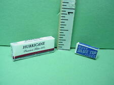 Dollhouse Miniature Cigarette Carton & Matches Hudson River #55001/57196
