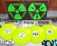 NUCLEAR DEATH 5 years of Death BOX SET 4 LP autopsy sarcofago impetigo carcass