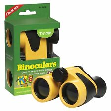 Coghlan's Binoculars for Kids Yellow 4x30 Sturdy Safe Plastic Camping Magnifier