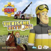 FEUERWEHRMANN SAM - TIERISCHE RETTUNG-DAS HÖRSPIEL   CD NEW