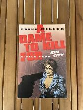 Sin City A Dame To Kill For Frank Miller (trade Paper Back )