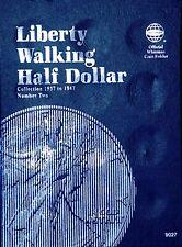 Whitman Liberty Walking Half Dollar Coin Folder 1937-1947 #9027
