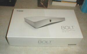 TiVo BOLT 500 GB DVR Streaming Media Player 4K UHD MINT in BOX w/Remote & HDMI