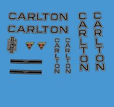 Carlton Bicycle Decals, Transfers, Stickers n.800