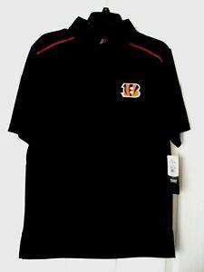 Cincinnati Bengals Men's Polo Shirt Size M NFL Team Apparel NWT!!!