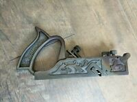 Antique Sargent & Co. VBM No 34 Dado & Rabbet Wood Plane Woodworking Hand Tools