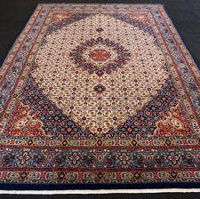 Orient Teppich Beige 344 x 244 cm Perserteppich Herati Muster Carpet Rug Tappeto
